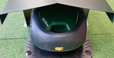 garage robot cortacesped